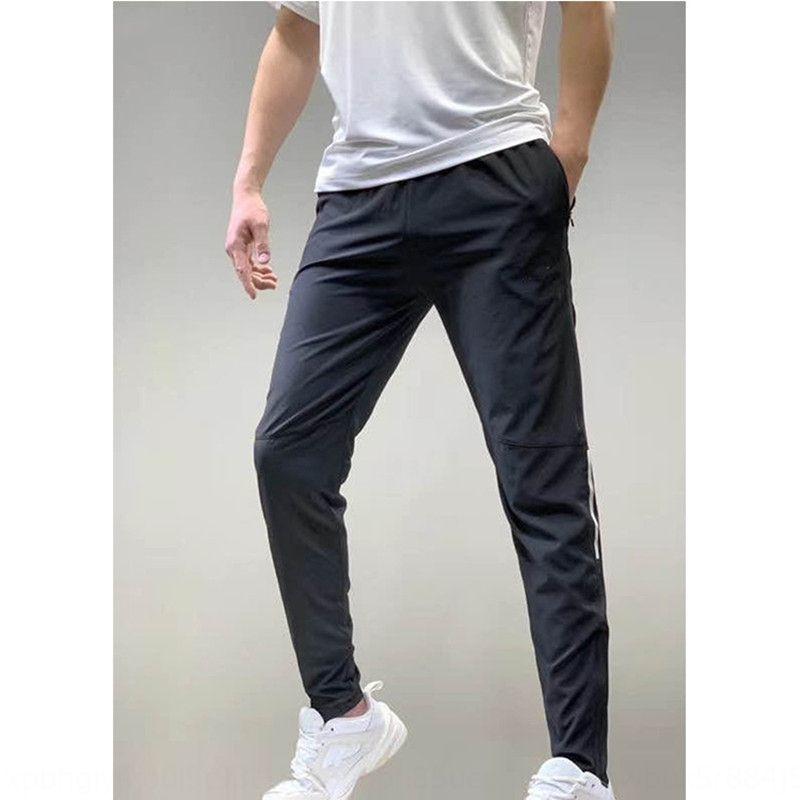 TLrVg NK2020 Verão novo calças dos homens esportes calças casuais running da aptidão de secagem rápida moda estilo americano de esportes respirável de ligação pé tr