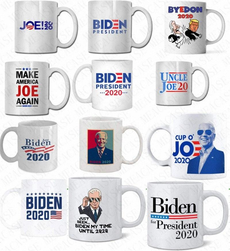 The US Election Joe Biden Letter Print Ceramic Cup 2020 Presidential Election Coffee Cup Drinking Water Cups Kitchen Drinkware Tools D N8Jx#