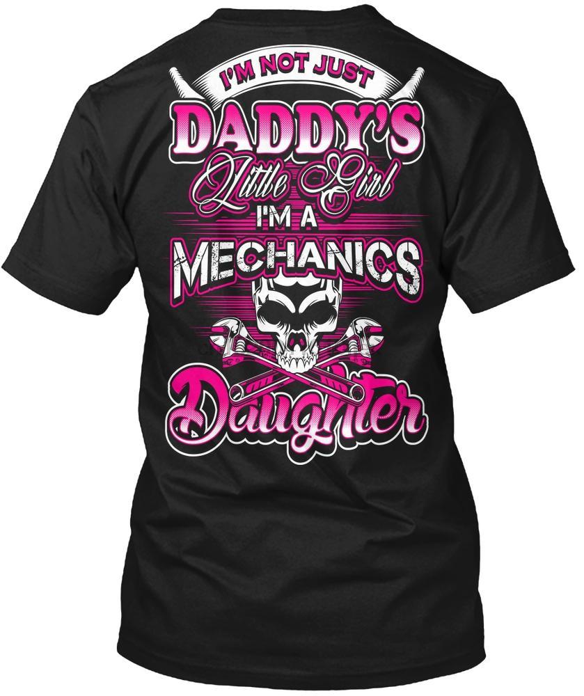 Männer-T-Shirt Mechanics Daughter - Papas kleines Mädchen-T-Shirts für Damen T-Shirt