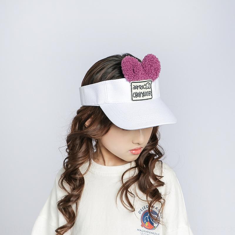 Детских летних мальчики девочек прилив детского ВС с пустым сверху»ВС шляпы письма крышка прилива крышка UV-доказательство шлет YFrb3