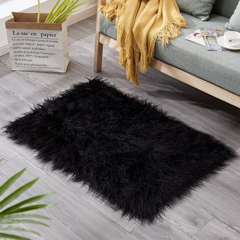 Explosion Style Wool Rug Home Fashion Living Room Sofa Cold Proof Warm Carpet Soundproof Curl Rug Rectangular Stair Step Mat Frieze Ca nZmO#