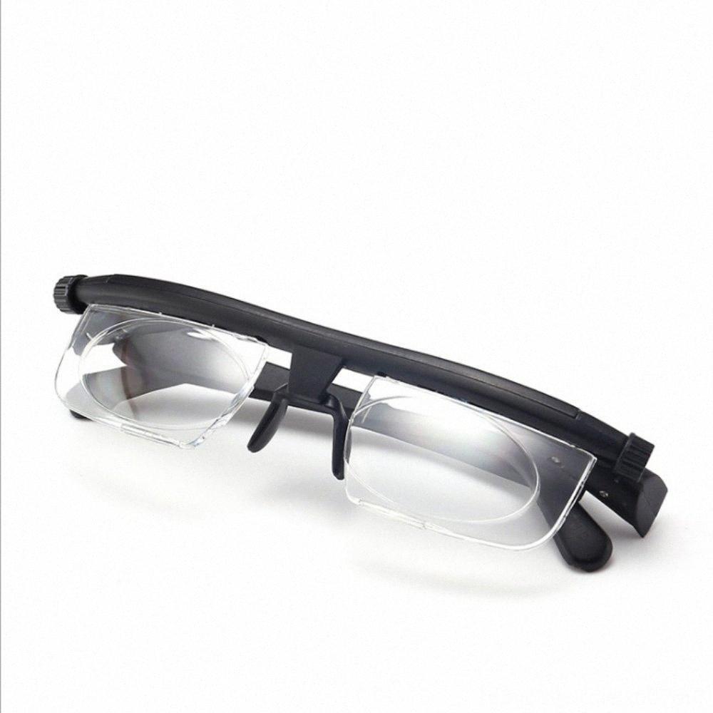 Dial Climbing Camping Wandern Lesebrille Myopie Einstellbare Objektiv Brillen 6D 3D PVC Variable Fokus-Abstand Gläser Z4KN #