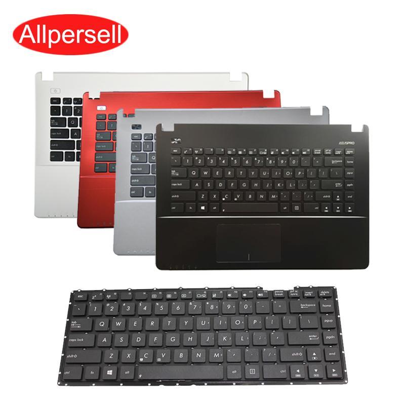 Teclado portátil de ASUS X450 X450V X450VC W418L Y481 estrenar para las palmas frontera teclado cáscara