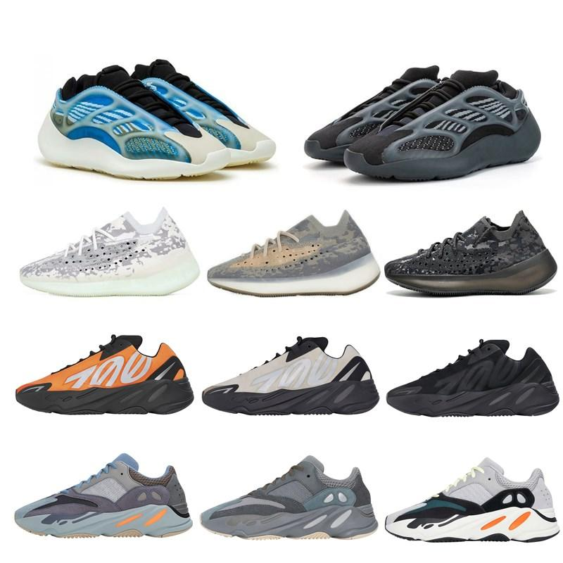 Azareth Srphym 700 V3 Kanye West Mens الاحذية Alvah Azael Bone 380 الأزرق الشوفان ضباب الغريبة الرجال النساء الرياضة أحذية رياضية zapatos