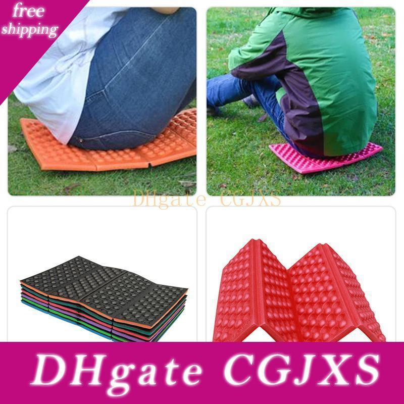 Outdoor Camping Foam Pad Travel Mats Cushion Folding Foam Seat Waterproof Portable Moisture -Proof Hiking Picnic Seat