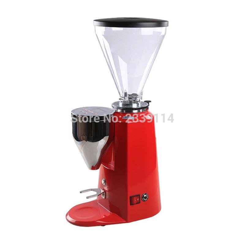 rotella piana 900A Professionale 350W stile italiano macinino da caffè / caffè rettificatrice con l'impostazione del pannello