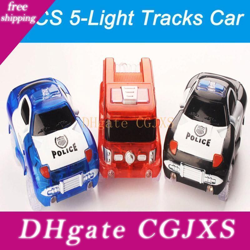 Heiße magische Spur Lustig Glow Spur Ersatzteile für magische Tracks DIY LED leuchten Auto spielt glühendes Racing Electronics Glow Auto