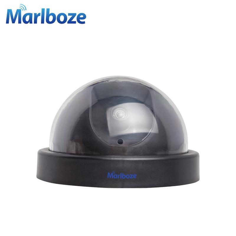 Wireless Home Sécurité Caméra vidéo Fausse surveillance Simulé intérieur / extérieur de surveillance factice Faux LED IR Caméra dôme