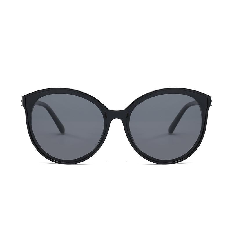 Óculos de sol 2020 novos óculos polarizados das Mulheres moda de rua foto polarizador cruz personalidade fronteira maré anti UV