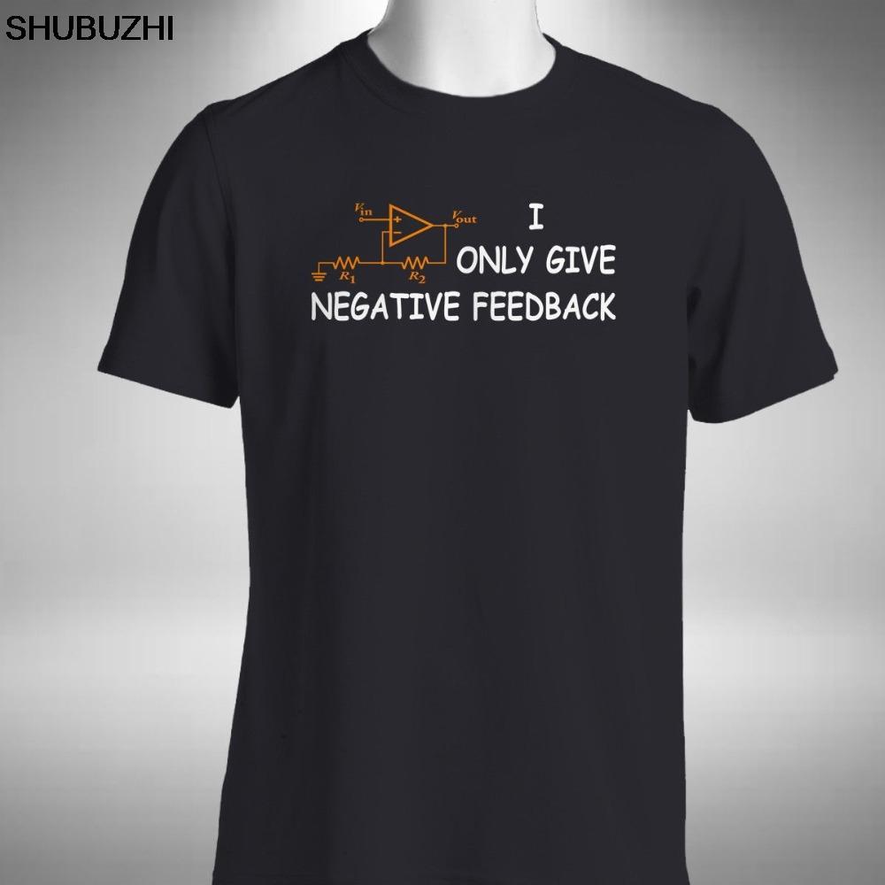 Ben sadece komik Bilgisayar Devre Kartı pamuk erkekler t-gömlek Büyük halini 4XL 5XL Negatif geri bildirim Erkek T Shirt ver