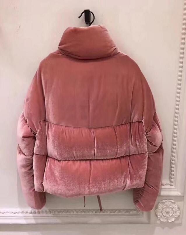 Brande 2020 inverno delle donne il 90% bianco dell'anatra giù del rivestimento del progettista della signora Zipper corta con cappuccio tuta sportiva di inverno caldo cappotto S-XXL