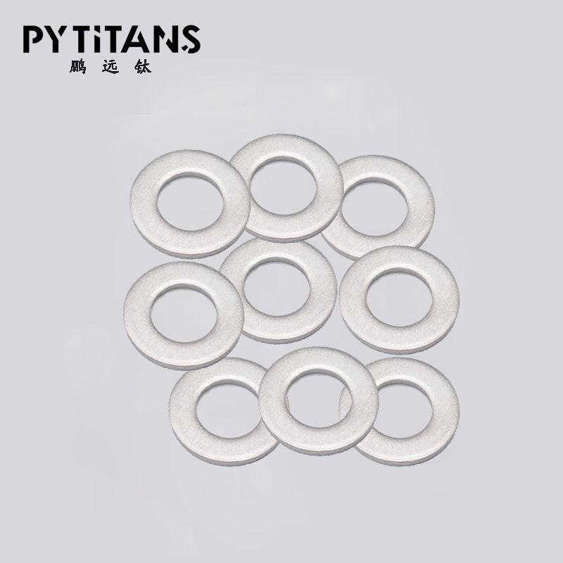 Vente chaude ventes au comptant de vis en titane rondelle plate rondelle M6 tête ronde dans les six vis en titane carré machine à commande numérique