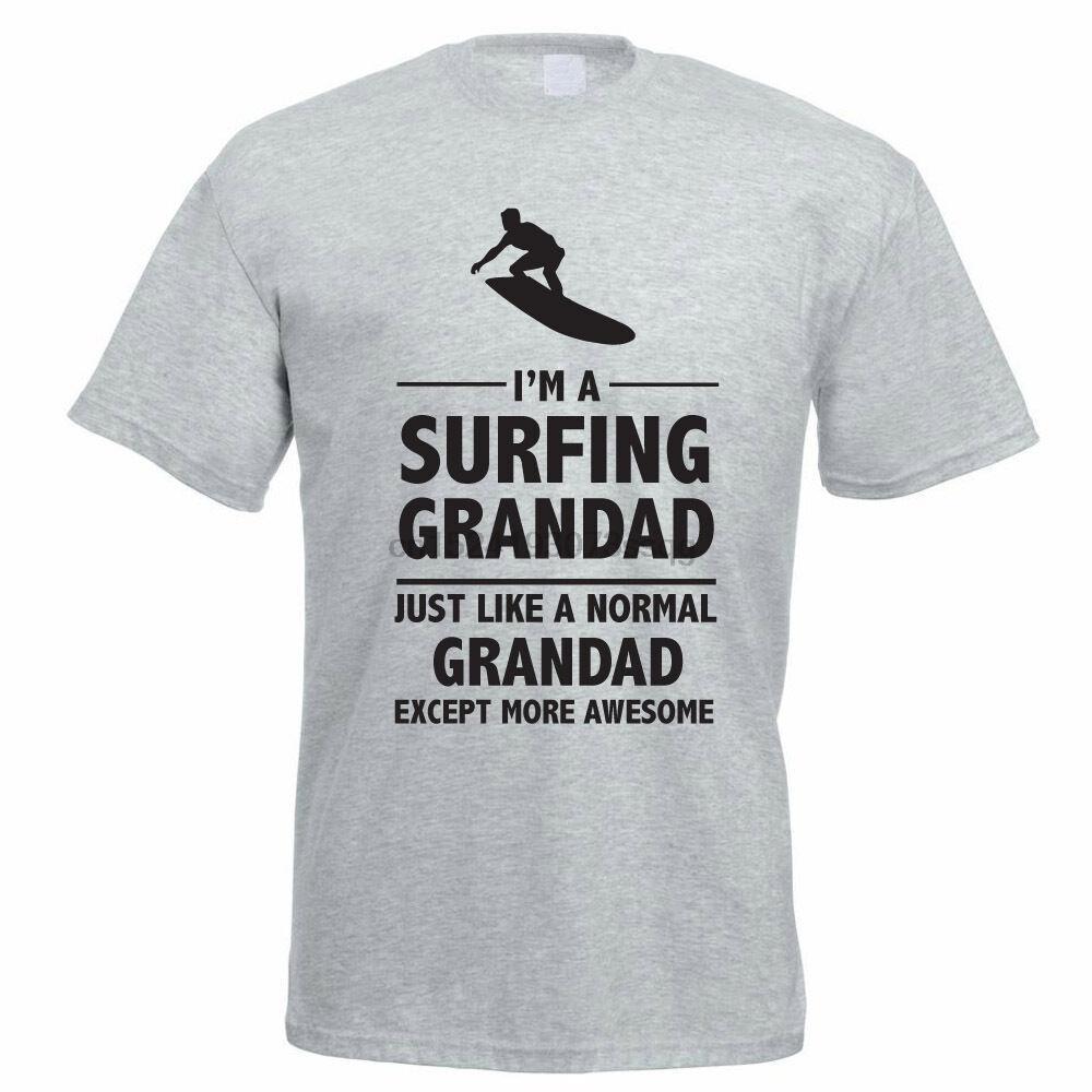 И. М. SURFING дедушку - Бабушки Surf Смешная идея подарка Mens T-Shirt