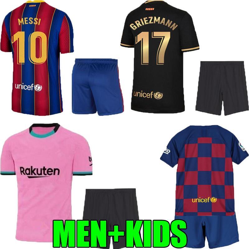 2020 Adult Kids 19 20 21 Barcelona Home Away Third Messi Griezmann Suarez Soccer Jersey 2020 2021 Barcelona Fc Thailand Men Child Football Shirt From Feng726 12 74 Dhgate Com
