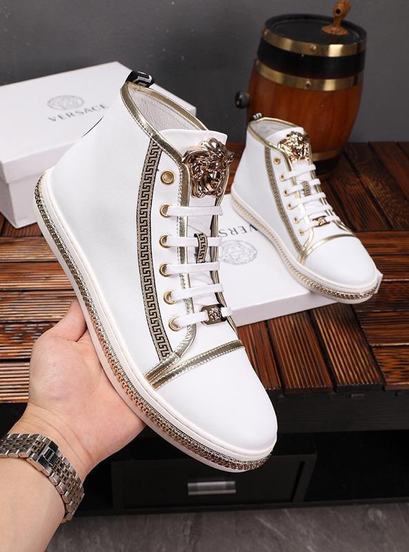 Piel 2021g Limited color de encargo del bordado de la alta -Block -Top Casual Ankle Boots, de alta -Fin de la manera salvaje de encaje -Up zapatillas de deporte, tamaño: 38 -451