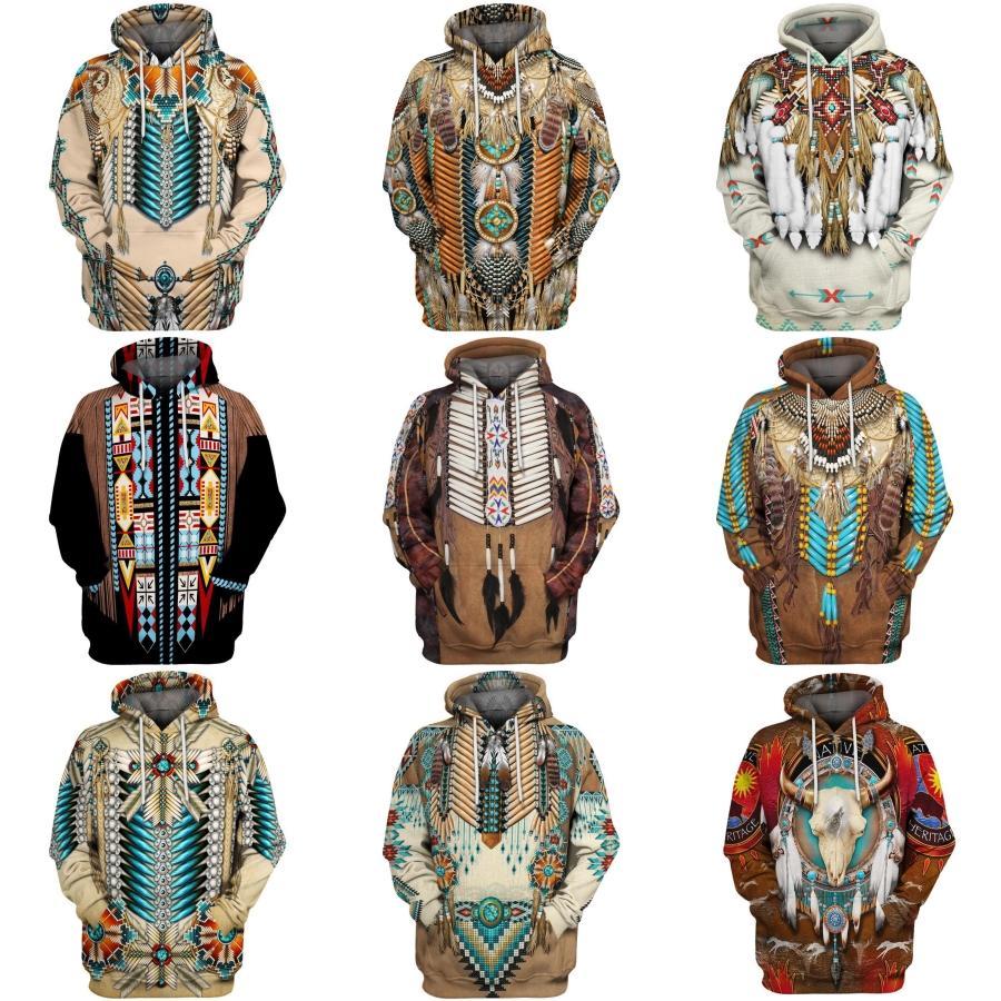 Kleidung Graffiti Print Mens Entwerferhoodies-Mode Panelled Gradient große Tasche Pullover Mens Hoodies beiläufige Männer # 392