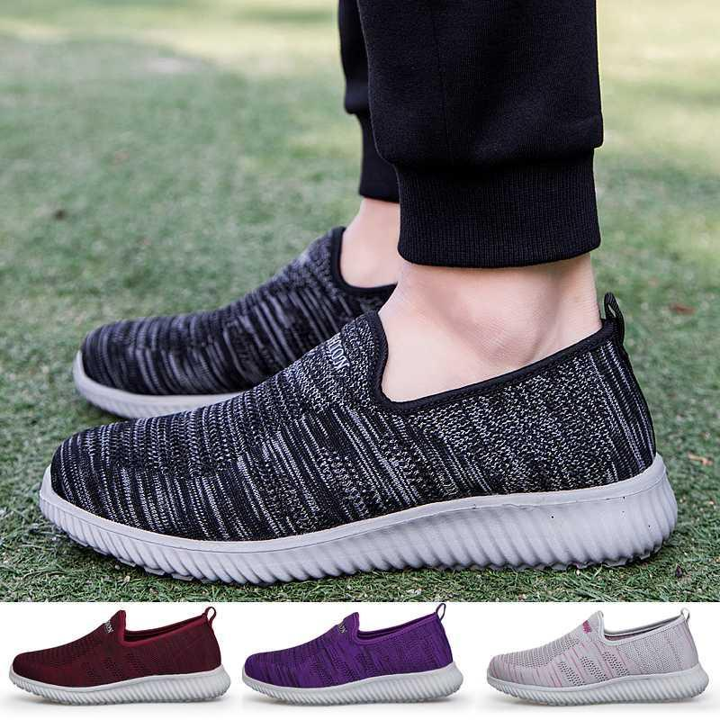 Hommes Femmes Mocassins Mode Respirant Chaussures Casual Outdoor Comfy Safty Chaussures Taille 36-44