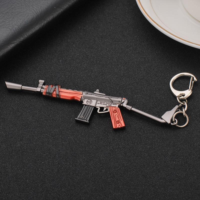 Armas Forma de suspensão da motocicleta Cars Chaveiro Chaveiro Interior Key Fobs Jóias