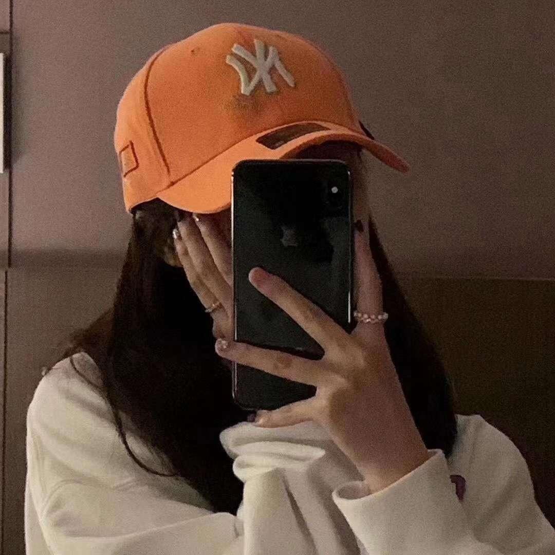 Liqt6 koreanischen Stil Modemarke Hut weibliche Spitz Baseball Süßigkeit Achtfarben-Baseball Sommer lässige Y Schirmmütze Kappe Yankees Paar