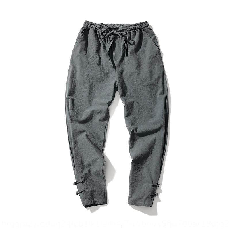 Primavera e Outono novas colorleggings sólidos dos homens calças casuais estilo mais casuais calças tamanho chineses calças masculinas moda pN0EW
