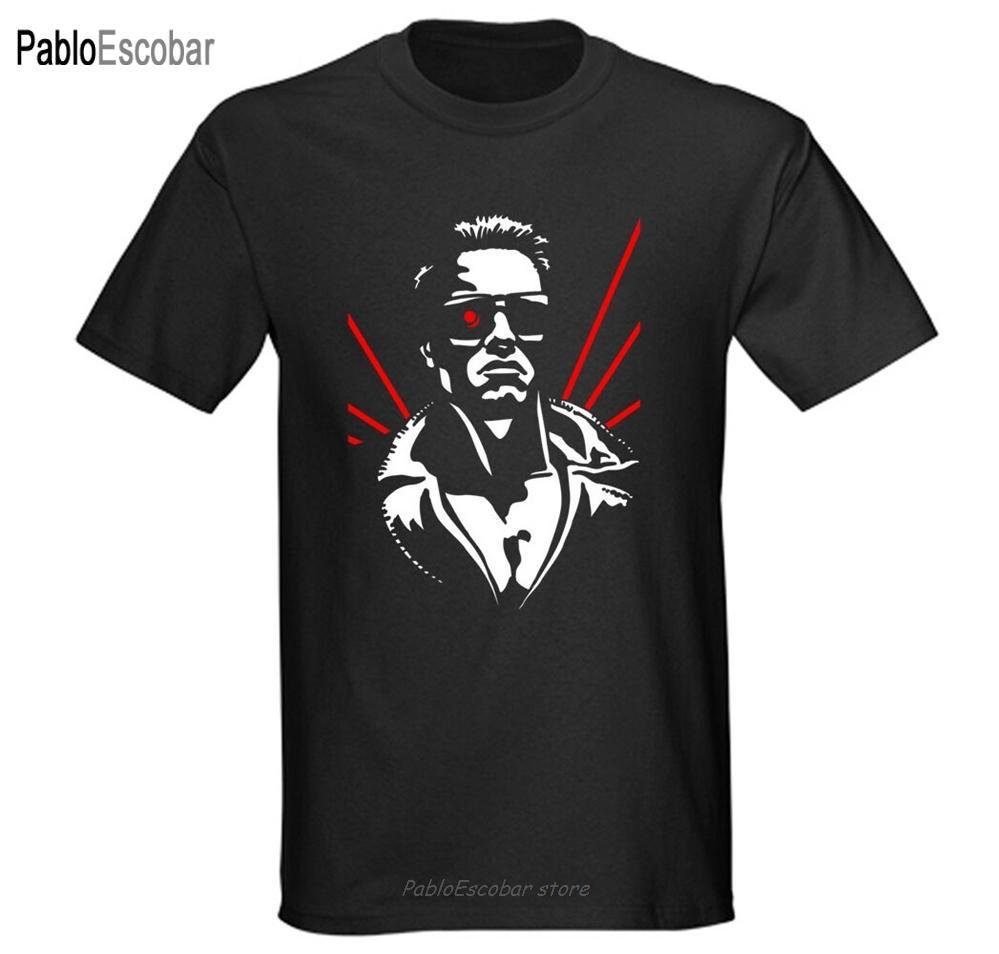 Retro 1980 est le Terminator T-shirt des hommes des années 80 Femmes 90 Arnie Arnold Schwarzenegger Film T-shirt S M L 2XL 3XL
