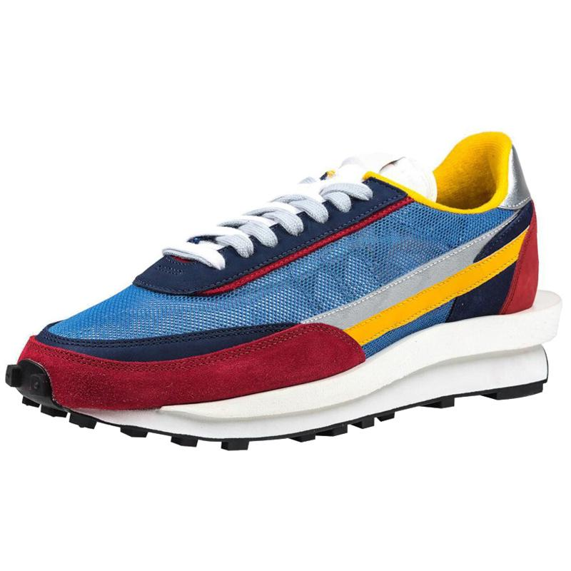 X LDV وافل daybreak تشغيل أحذية المدربين الرجال للنساء مصمم أزياء التنفس تريبس s الرياضة سنيكرز