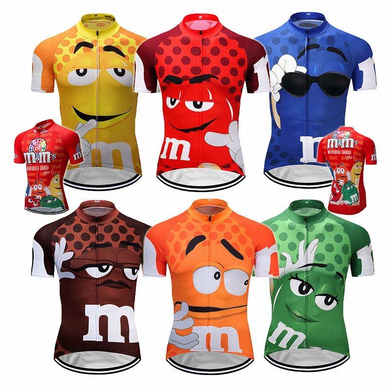 7 cores de Verão de Ciclismo Jerseys engraçado Roupa Ciclismo Mtb Shirt top de bicicleta shirt do desgaste Curto Maillot Ropa Ciclismo bicicleta Roupa ygUA #