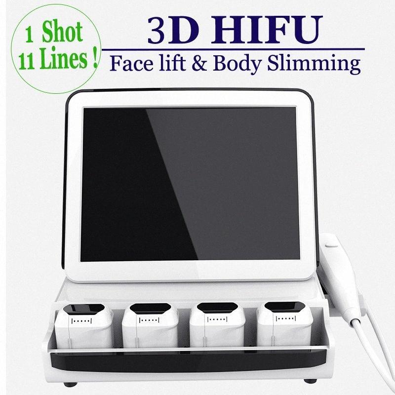 High Tech 3D HIFU Body Contour Macchina focalizzata trattamento ad ultrasuoni riduzione del grasso non invasiva Lipo corpo Hifu dimagrante approvazione FDA HICA #