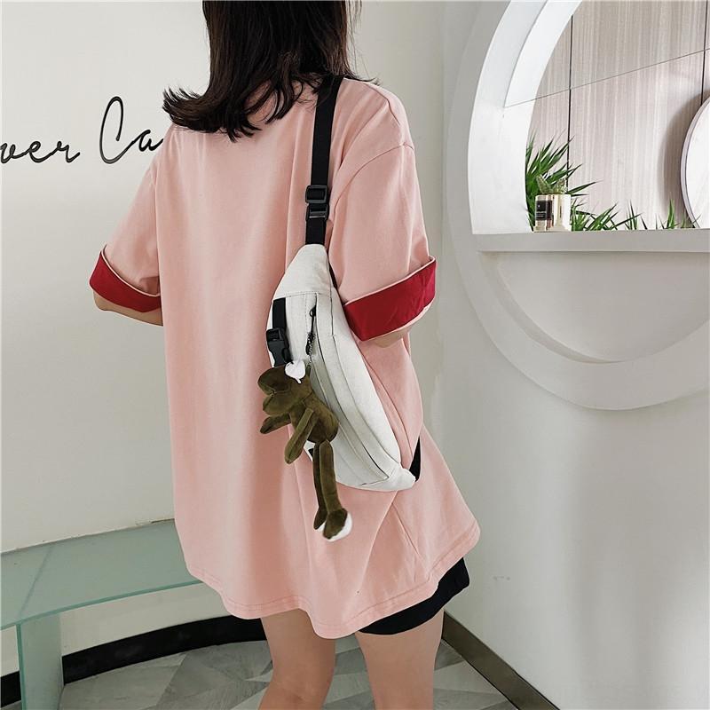 2020 Yaz yeni moda serin stil çantası Pu kadın geometrik desen göğüs torba zarf küçük çantası çanta