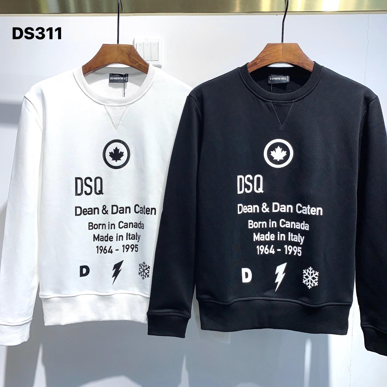 DSQ Phantom Turtle Hoody New Herren Designer Hoodies Italien Mode Sweatshirts Herbst Druck DSQ Hoodie Männliche Top Qualität 100% Baumwolle Tops 01256