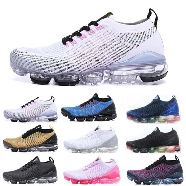 Com a caixa + X voando linha preto e sapatos esportivos brancos para homens e mulheres, vibração, corrida, caminhada, sapatos ao ar livre, 36-46