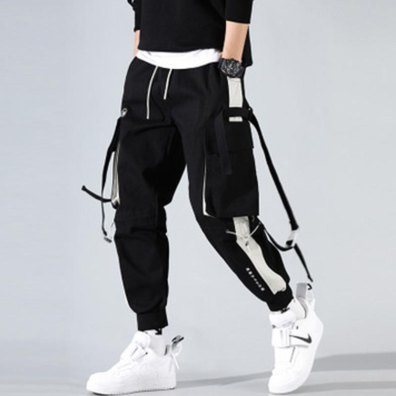tute degli uomini Streetwear di harem pants hip hop casuali di sport dei pantaloni jogging uomini pantaloni cargo moda maschile tattici