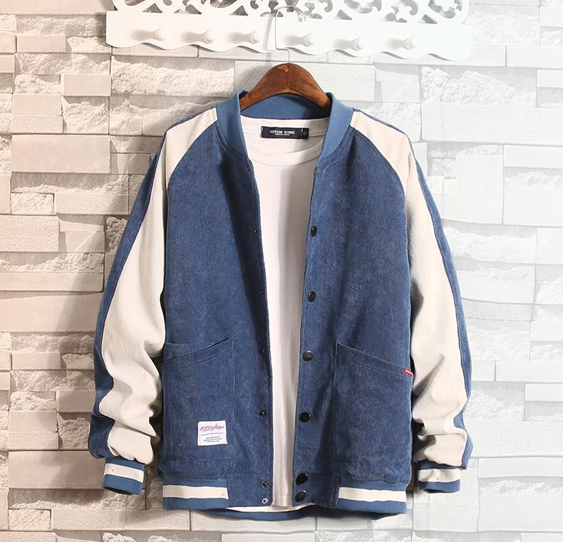 Deporte al aire libre Hombre Ropa para hombre del diseñador de la chaqueta del invierno del otoño más el tamaño de manga larga con paneles de moda abrigos