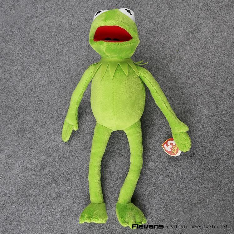 Hot Sale 14 '' 40 centímetros FrogPlush Brinquedos FrogToy Sesame Street boneca Stuffed Animal Plush Frog boneca Holiday Gift LJ200808