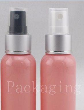 Großhandel, 50ml Mini rosafarbene Plastikpumpe Spary Flasche Schaum Make-up für Speicher von Parfüm usw.