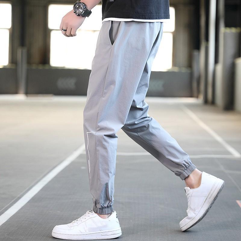Neue beiläufige Hosen der Männer Hip Hop Sport-Hosen-Herbst-Marken-Männer Fußhose Männliche Studenten Skateboard