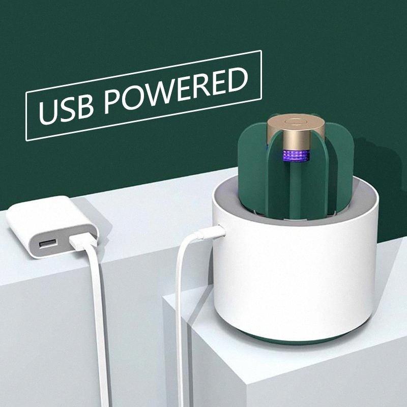 Kaktüs Sivrisinek Killer Çıkarılabilir USB UV Zararsız Solunamaz Sivrisinek Dumansız Kovucu LED Killer dropshipping 7Uo4 #