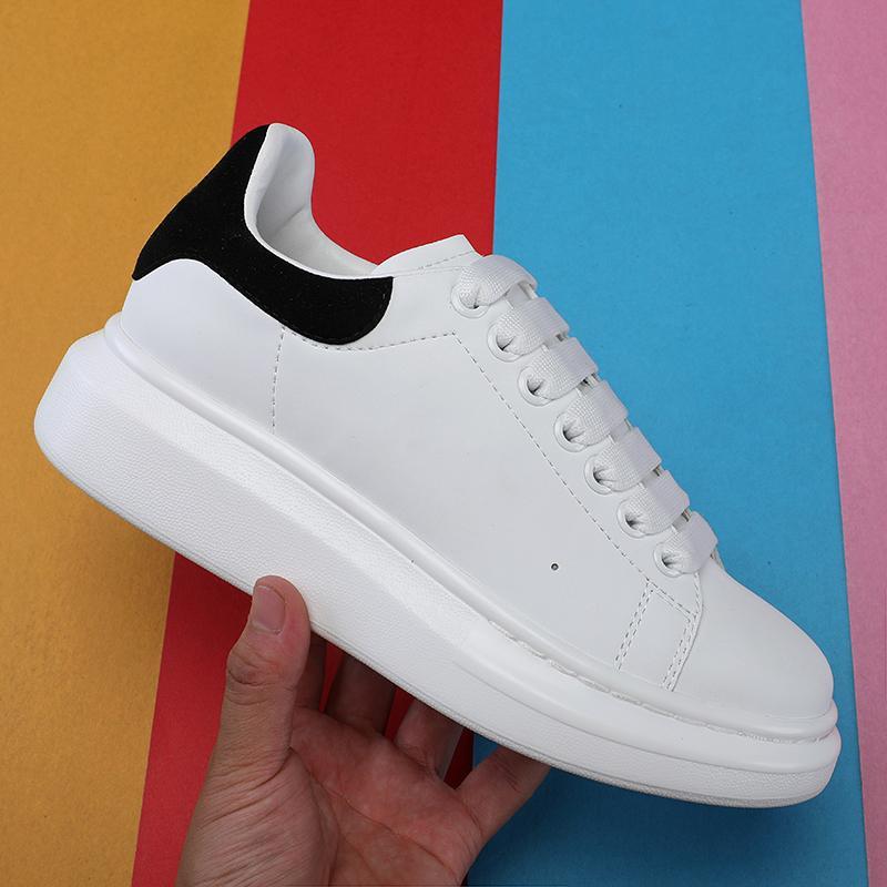 Neue Designer 3 Mt Reflektierende Flache Beiläufige Schuhe Dreibettzimmer Weiß Schwarz Männer Frauen Plattform Party Schuhe Sport Turnschuhe 36-44 kostenloser versand