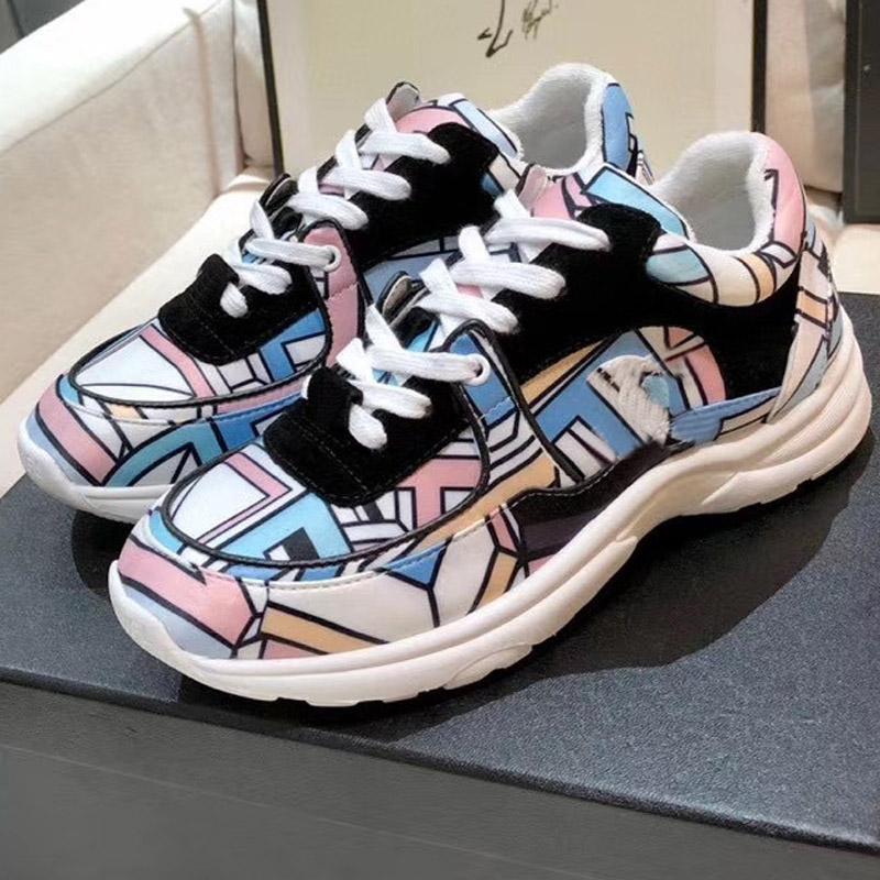 CALDO romantica kind1 paio di sneaker cuscino di pizzo donna ragazza scarpe da corsa formatori Designer Sport Sneakers scarpe da donna Eur35-41