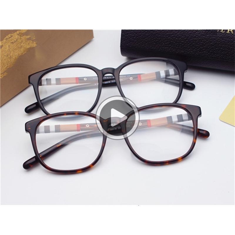 CJ1Y ener prescriptioBrand-Qlity B2188 eleglant listra quadro fêmea tle dn glasses55-19-145pure-prancha caso quadro fullset