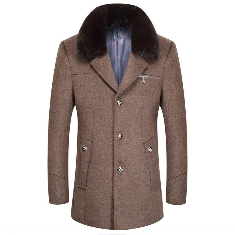 Or3AJ ovelhas Outono e Inverno novos homens da moda cachecol j64Zm lã lã Cachecol Brasão casaco de lã dos homens engrossado lã lã