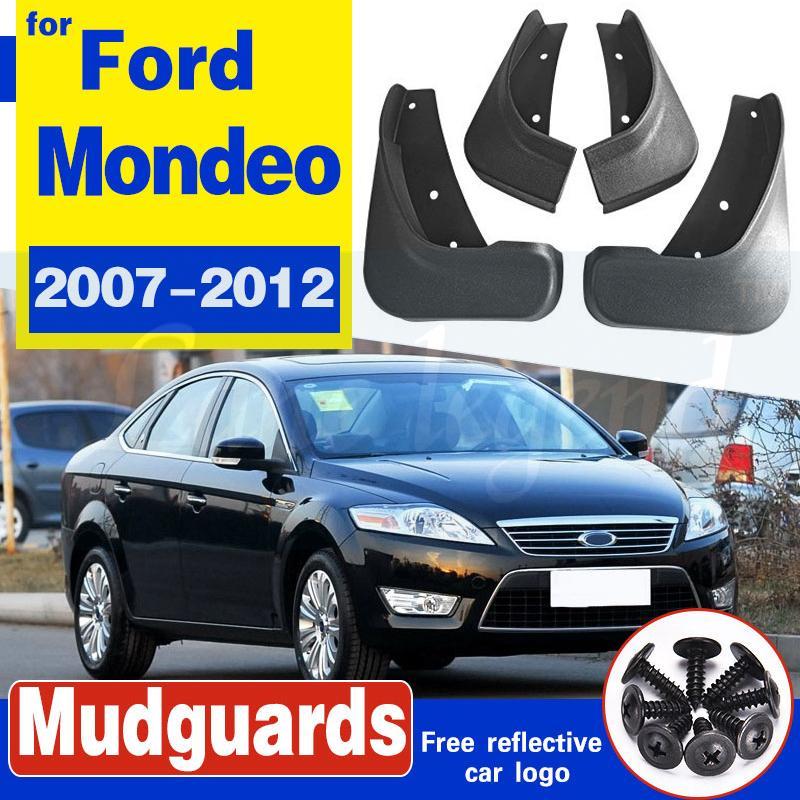 4Pcs Auto Vorne Hinten Mudflaps Kotflügel Kotflügelverbreiterungen Schlammspritzschutz Schmutzfänger für Ford Mondeo 2002-2007-2012