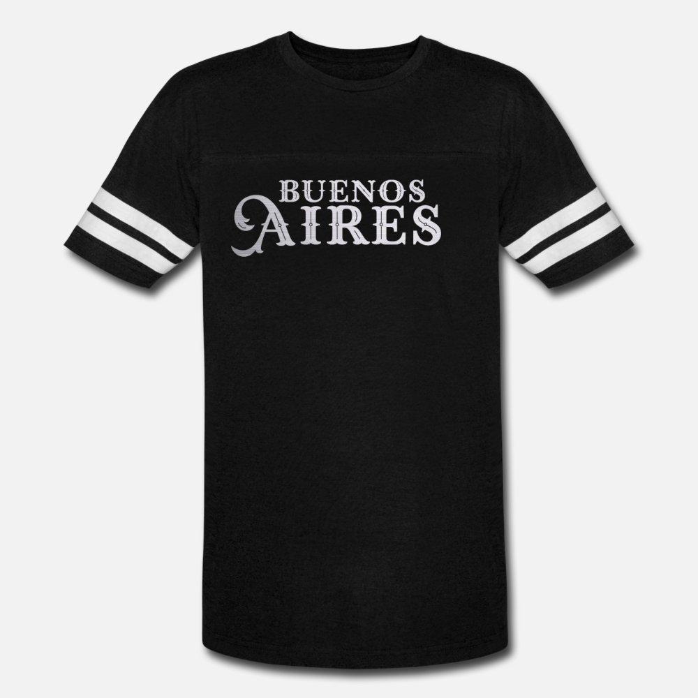 Bestseller Buenos Aires Cidade premium presente Brasil camisetas homens Projeto de algodão rodada camisa Pattern Neck Unisex solto Edifício Estilo Verão