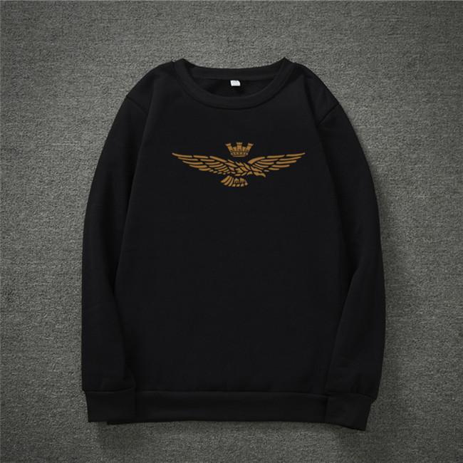 2021 lang Hülsen-T-Shirt Hip Hop Printed Langarm T-Shirt Neuer Rundhalsausschnitt bedruckter Baumwolle Herren-Hemd für den Herbst Männer