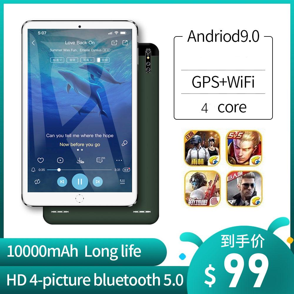 HD Tablet PC 16G Dual Camera GPS Candy Bar Mobile Phone sem fio Bluetooth Chamada MP3 Player de vídeo MP4 Android 9.0 som do computador