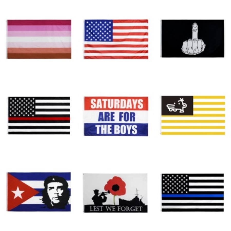 USA-Flagge Hand Kleine Mini-Flagge USA US amerikanische Festival-Party Supplies Flag 14 * 21 cm LJJK2168N # 354