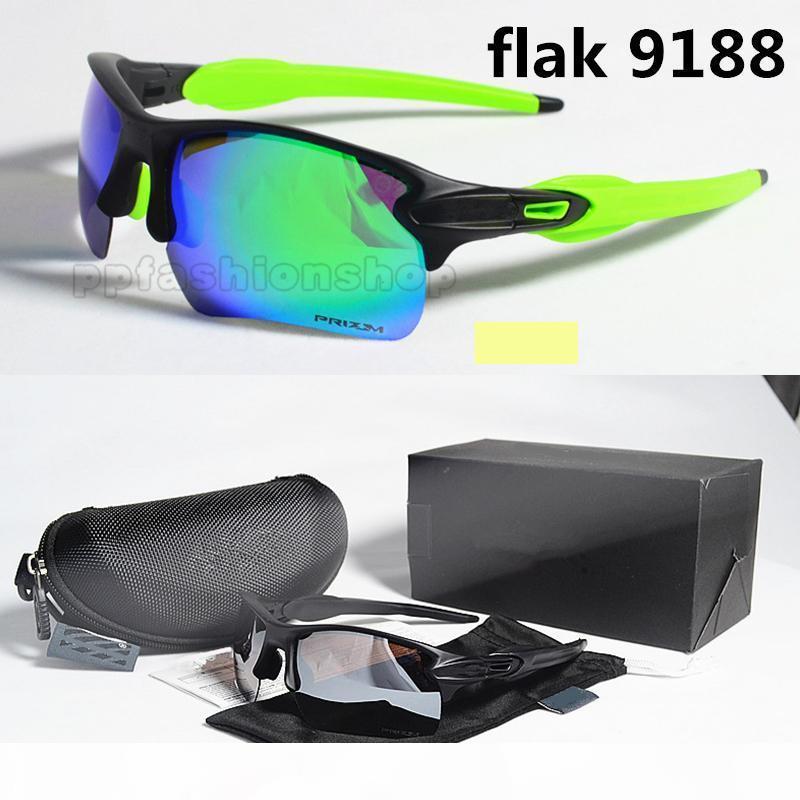 Rechteckige 9188 Markengläser im Freien polarisierte Iridium Fahrrad Motorradbrille Männer und Frauen, die Sport winddicht Reiten Sonnenbrillen