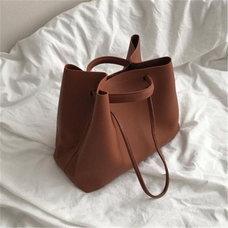 2020 nuovi ins delle donne popolare coreana Bao Tong baoshould er tong borsa a tracolla portatile borsa semplice per bambini per bambini e baobig rbbcP rbbcP