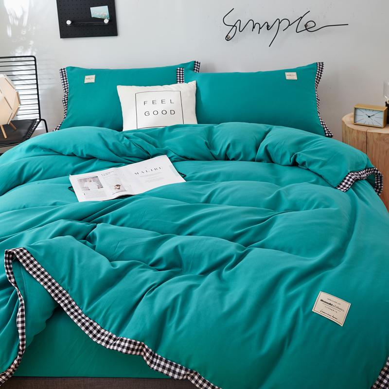 New Room decoration full queen king size bedding set single/Double bed-Christmas gift Soft comfortable bedding sets