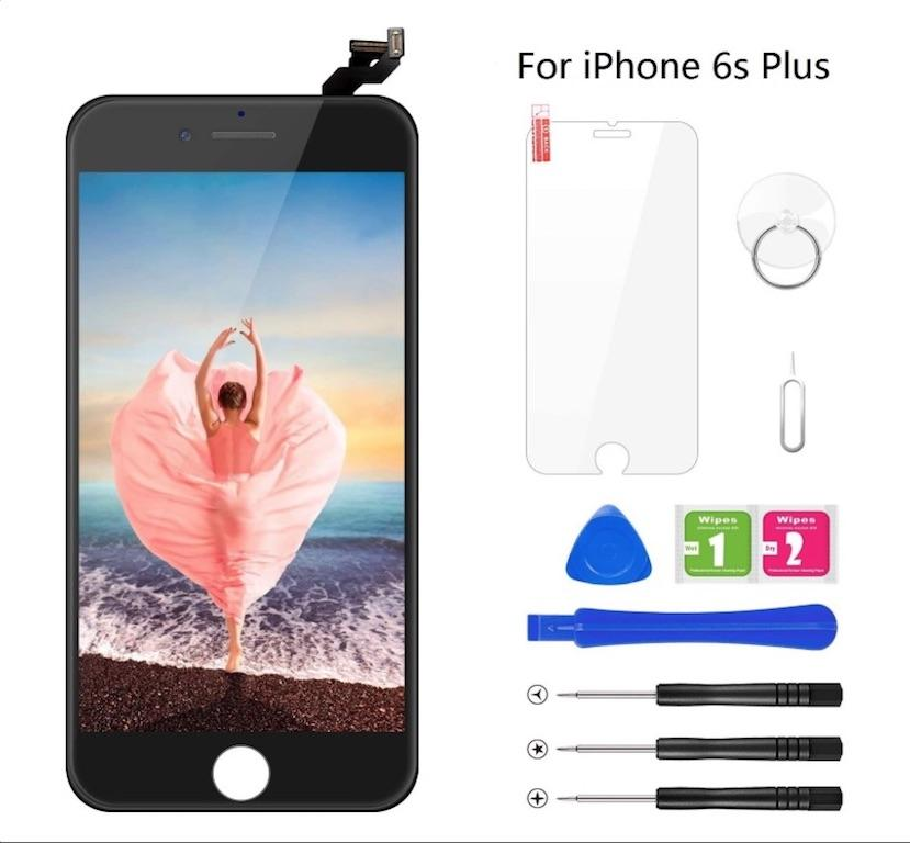 OEM iPhone 6s Plus LCD Touch Screen Digitizer Display Replacement Highly Tested Quality With Free Gifts one set of Tools + Screen Protector